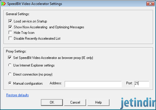 SpeedBit Video Accelerator 3