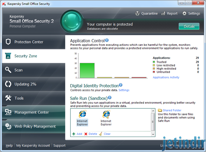 Kaspersky Small Office Security  0