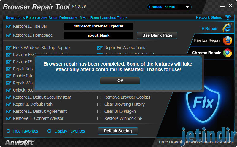 Anvi Browser Repair Tool 2