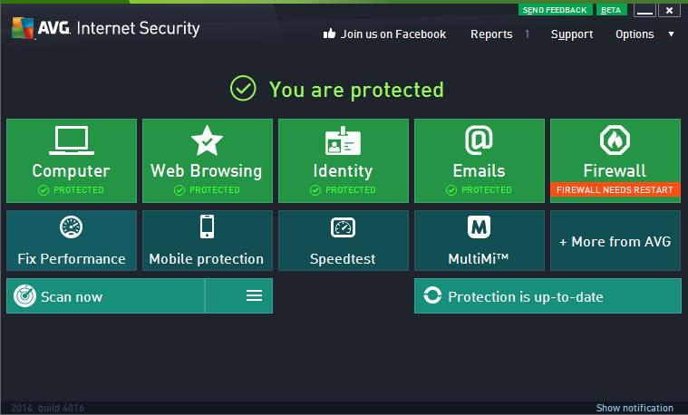AVG Internet Security 2014 2