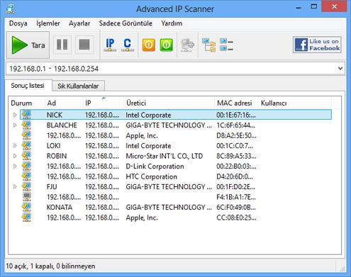 Advanced IP Scanner 0