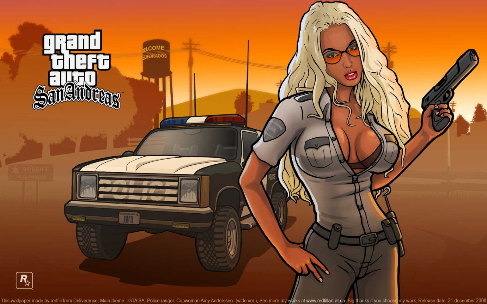 gta san andreas Grand theft auto gta san andreas is an open world action game similar to other grand theft auto titles, the game is played from a third person perspective allowing the player to interact with the game world at their leisure by foot or vehicle.