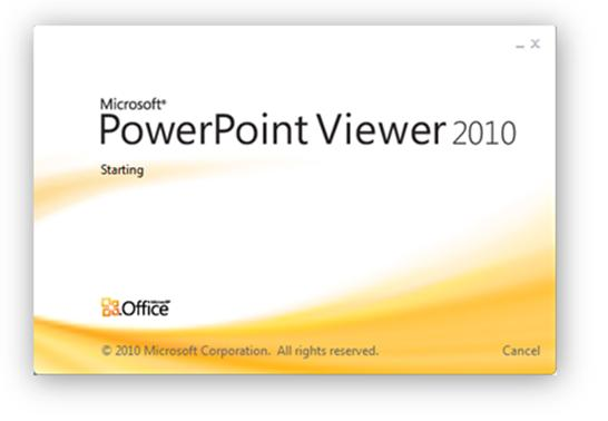 Microsoft PowerPoint Viewer 0