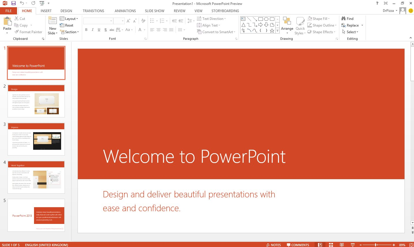 Microsoft Templates For Powerpoint