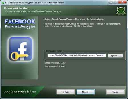 Facebook Password Decryptor 1