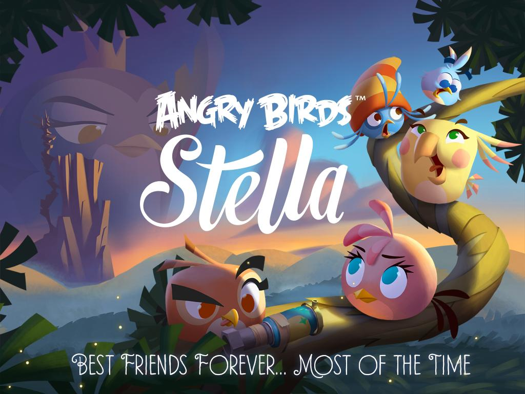 Angry Birds Stella 0