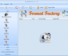 Format Factory Ekran Grnts