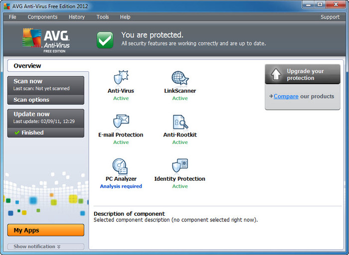 AVG Anti-Virus Free Edition 1
