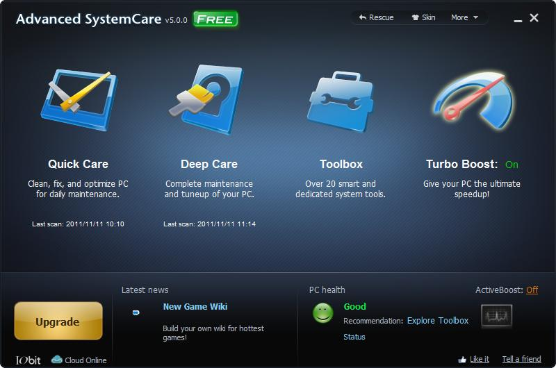 Advanced SystemCare 0