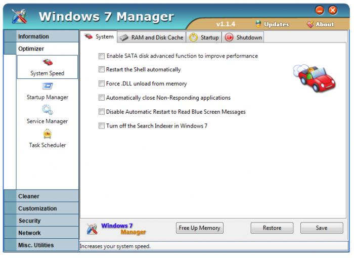 Windows 7 Manager 2